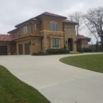 Custom concrete driveways of any size and design can be created by Aesthetic Concrete Designs.