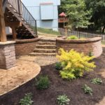 Extend outdoor entertaining space with custom concrete contracting services from Aesthetic Concrete Designs.