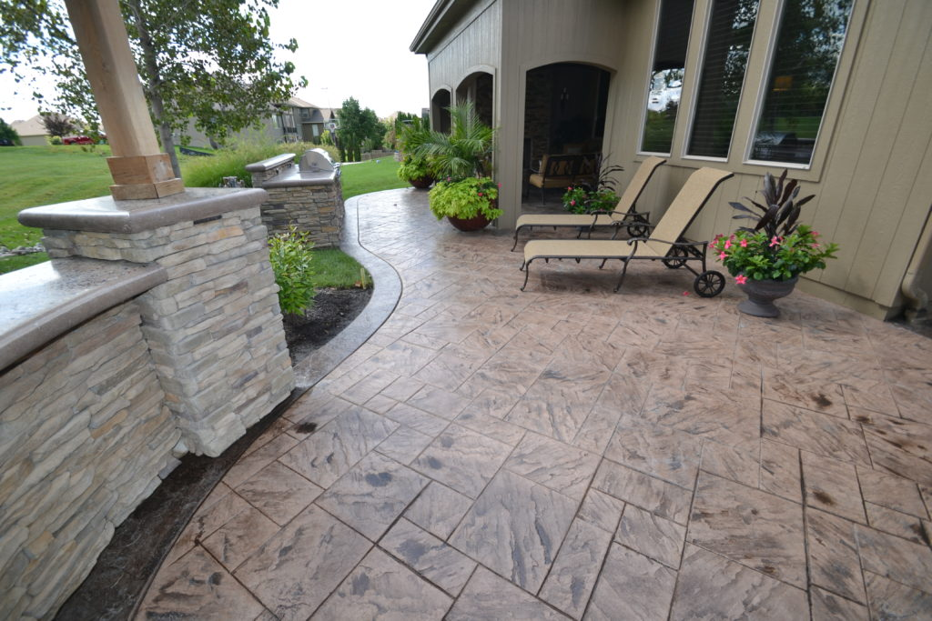 Aesthetic Concrete Designs brings to you impeccable service and designs in stamped concrete, borders, concrete countertops, and walls