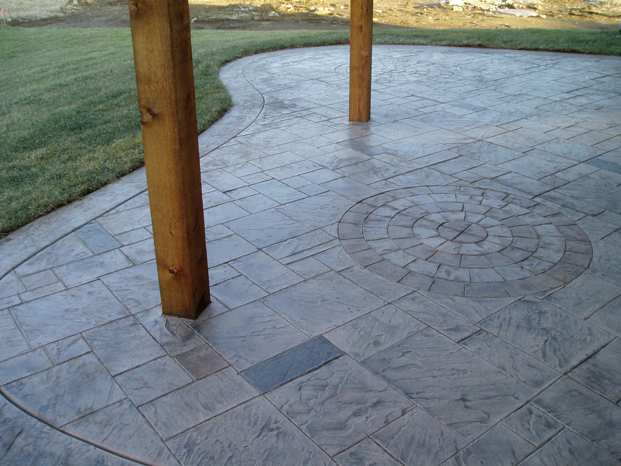 Create more space under the deck. Let Aesthetic Concrete Designs be your concrete contractor for all our outdoor room ideas.